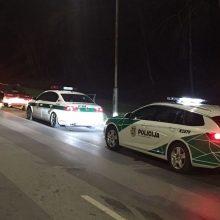 Reidą surengę pareigūnai: toks pažeidimas – trečdalio visų eismo įvykių priežastis