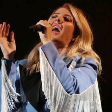 """""""Granatos Live"""" sceną drebins britų žvaigždė E. Goulding"""