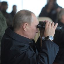 """Rusija ir Baltarusija neužtikrino būtino skaidrumo dėl pratybų """"Zapad"""""""