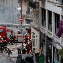 Galingo sprogimo Paryžiuje aukų skaičius auga – rasta dar viena negyva moteris