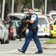 Po šaudynių Naujoje Zelandijoje – ginklų draudimas