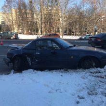 Po avarijos Taikos prospekte abu vairuotojai išvežti į ligoninę