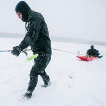 Aplinkosaugininkai ir ugniagesiai įvardijo, kas lemia nelaimes ant ledo