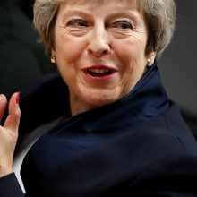"""Th. May perspėja dėl neįvykdyto """"Brexit"""" pasekmių: laikas pamiršti žaidimus"""