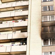 Radviliškio rajone dega butas, viduje gali būti žmonių