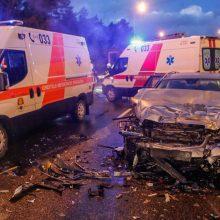 Antradienį dėl girtų vairuotojų kaltės nukentėjo ir suaugusieji, ir vaikai