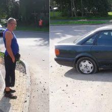 Avariją sukėlusiam vairuotojui nustatytas daugiau nei 3 promilių girtumas