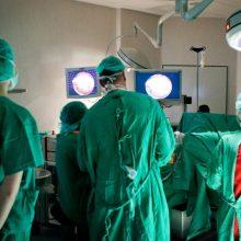 Kauno klinikose operacijos metu mirė nuteistasis