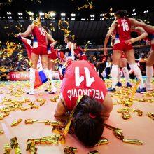 Perrašyta istorija: Serbijos tinklininkės pirmą kartą tapo pasaulio čempionėmis