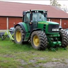 Telšių policija latviui grąžino iš jo pavogtą traktorių