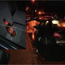 Avarijos Vokiečių gatvėje kaltininkas atvyko į policiją girtas <span style=color:red;>(ieškomi liudininkai)</span>
