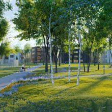 Kauniečiai džiaugiasi: vienas po kito atgimsta parkai, Aleksote atsiras naujas