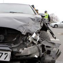 """Per dviejų """"Ford"""" avariją nukentėjo žmogus"""