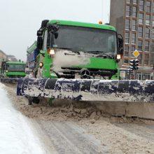 Žiema įgauna pagreitį: kurie keliai bus valomi pirmiausia?