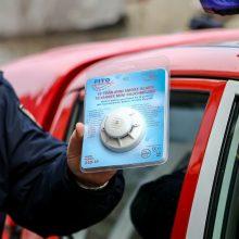 Apsisaugoti neskuba: daugelyje kauniečių būstų dūmų detektorių – nė kvapo