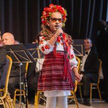 Neregiai iš Ukrainos kauniečiams dalijo muziką ir jausmus