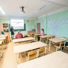 """Prie streikuojančių kolegų prisijungė """"Rasos"""" gimnazija"""