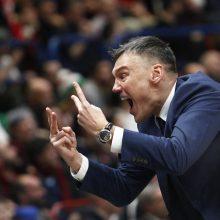 Š.Jasikevičius: mūsų tikslas Milane - nepraleisti daugiau nei 75 taškai