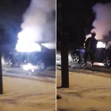 Ekspertai: Šiauliuose automobilis nebuvo sprogdintas