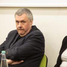 H. Mackevičius: lietuvių kalbai labiausiai trūksta W formos paminklo