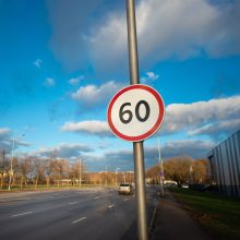 Vairuotojų dėmesiui: vienoje pagrindinių Kauno gatvių galima lėkti greičiau