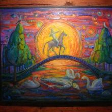 V. Kašinsko drobėse – senoji simbolika