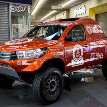 Į Dakaro trasas – lengvesniu ir naujesniu bolidu