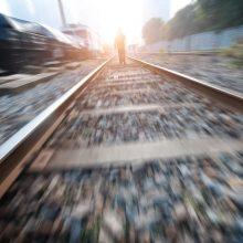 Šiaulių rajone traukinys kliudė žmogų