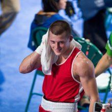 E. Stanionis dar vieną kovą profesionalų ringe baigė nokautu