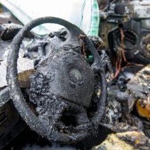 Trakų rajone dingusio sargo automobilyje rastas sudegęs kūnas