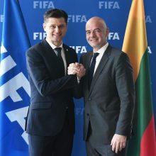 Vyriausybė pasirašys sutartį su Lietuvos futbolo federacija