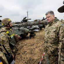 Rusijos veiksmai Ukrainoje yra kliūtis Vašingtono ir Maskvos santykių pagerėjimui
