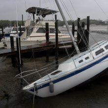 Floridos šerifas: nešaudykite į uraganą