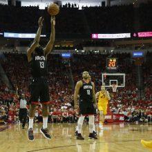 """Solidus J. Hardenas padėjo """"Rockets"""" seriją pradėti užtikrinta pergale"""