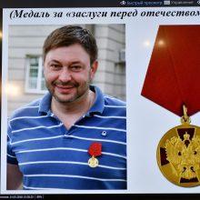 """Rusija reikalauja Ukrainos paleisti areštuotą """"RIA Novosti"""" žurnalistą"""