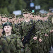Klaipėdoje prisieks nuolatinės privalomosios pradinės karo tarnybos kariai