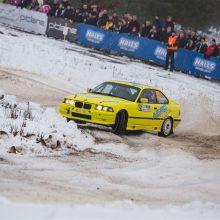 """""""Winter Rally"""" organizatoriai: paskutinė intriga liks šeštadieniui"""