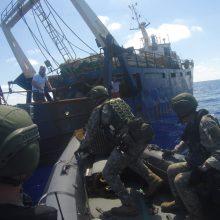 Iš operacijos Viduržemio jūroje grįžta Laivų apžiūros grupė