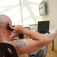 Nauja telefoninių sukčių taktika: siekia patekti į gyventojų butus