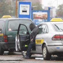 Klaipėdoje keleivis talžė taksi vairuotoją