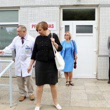 Infekcinių ligų departamente – įkurtuvės