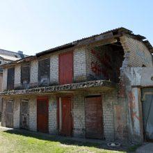 Klaipėdos mieste šalins griuvenas