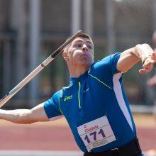 Ieties metikas E. Matusevičius Europos čempionate užėmė dešimtąją vietą