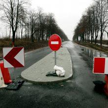 Uždarys eismą Tilžės gatvės dalyje