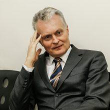 Liudyti krizės komisijai iškviestas G. Nausėda