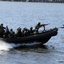Kovinėms operacijoms jūroje – 640 tūkst. eurų vertės kovinis kateris