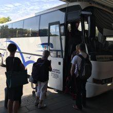 """Keliaukite šeimomis su """"Klaipėdos autobusų parku""""!"""