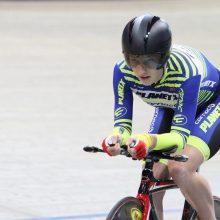 Dviratininkė O. Baleišytė Europos jaunių ir jaunimo čempionate – penkta