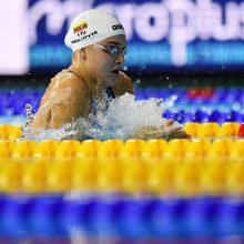 R. Meilutytė iškovojo antrąjį Europos čempionato aukso medalį