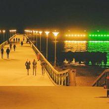 Palanga Lietuvą pasveikins iškeldama didžiausią trispalvę virš Baltijos